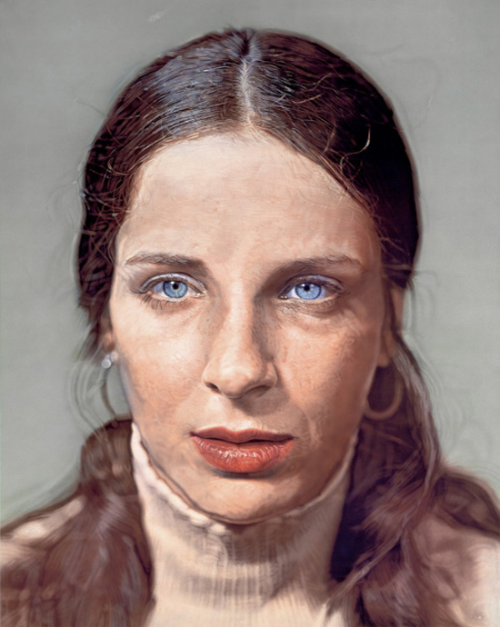 Leslie-chuck-close-portrait